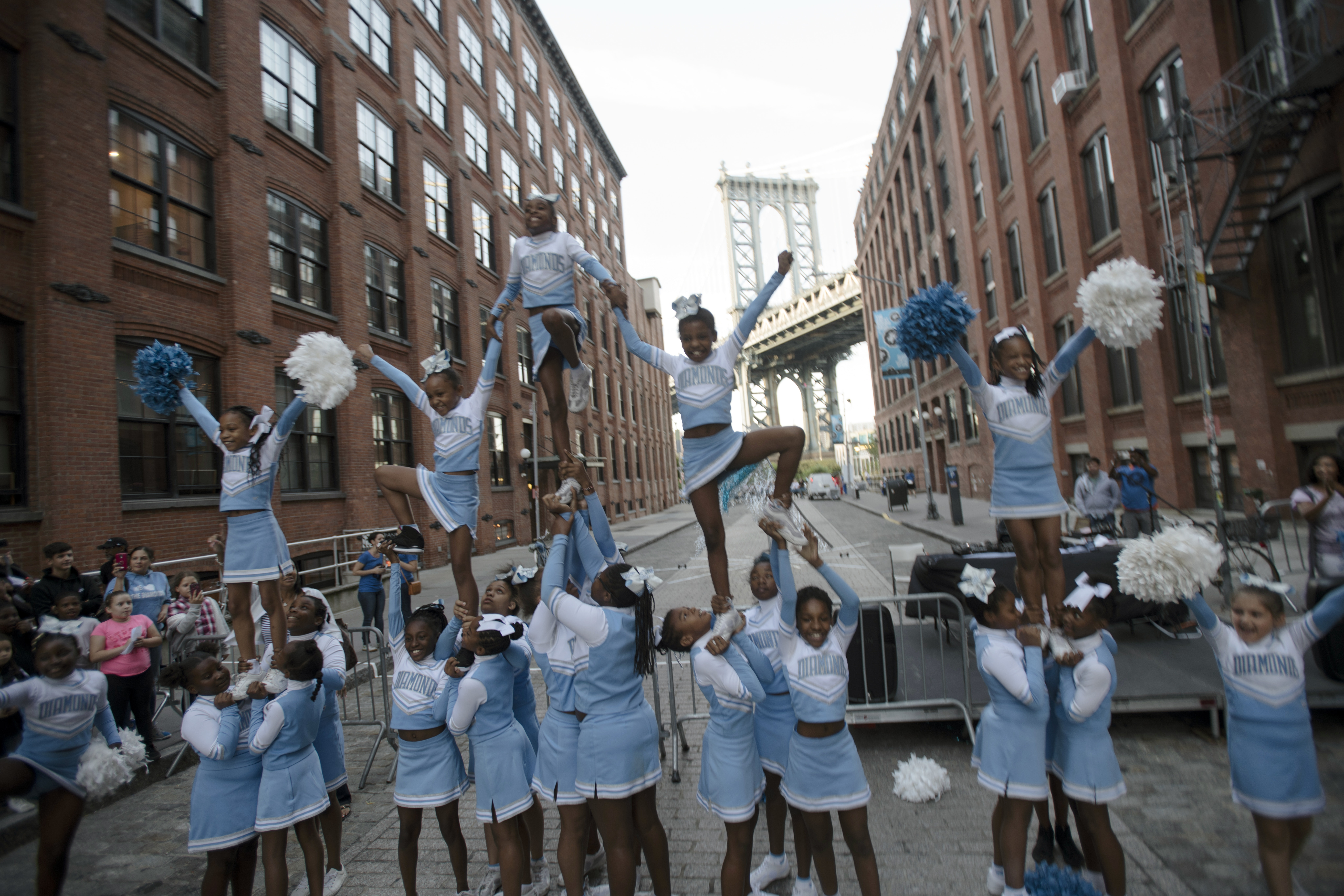 The Diamonds at The Great Dumbo Drop