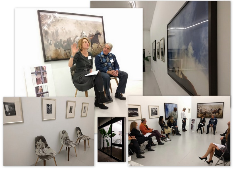 Photos from a talk on Photography Law at the Danziger Gallery in November 2017