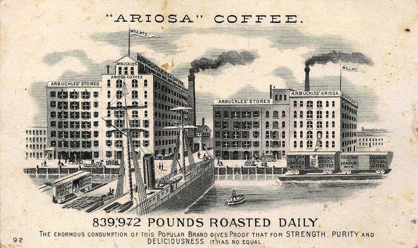 Ariosa Coffee History