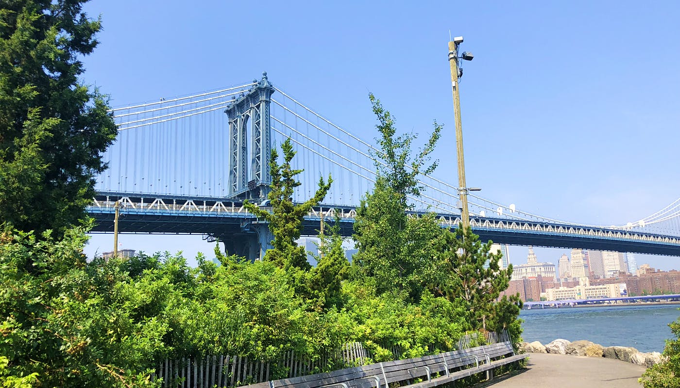Enjoy Brooklyn Bridge Park without the crowds in the John St Section of the Park