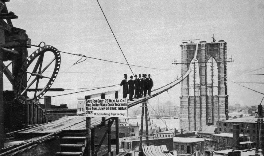 Brooklyn Bridge Catwalk History