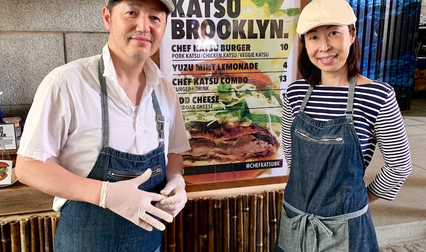 Chef Katsu And Chiemi Machida