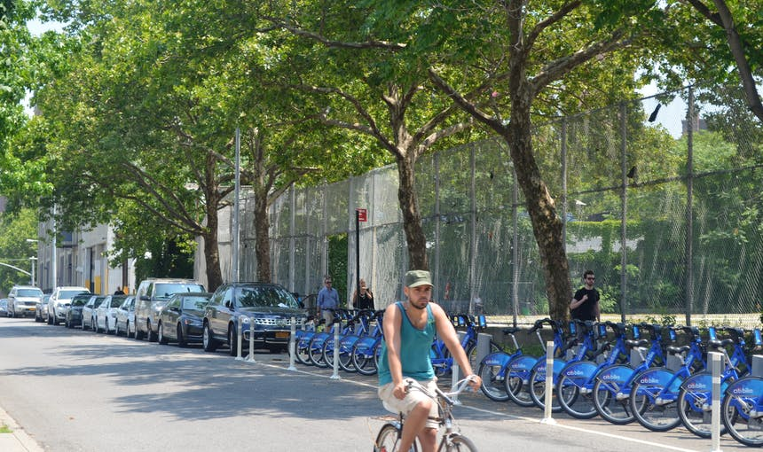Citi Bike Front Jay Street