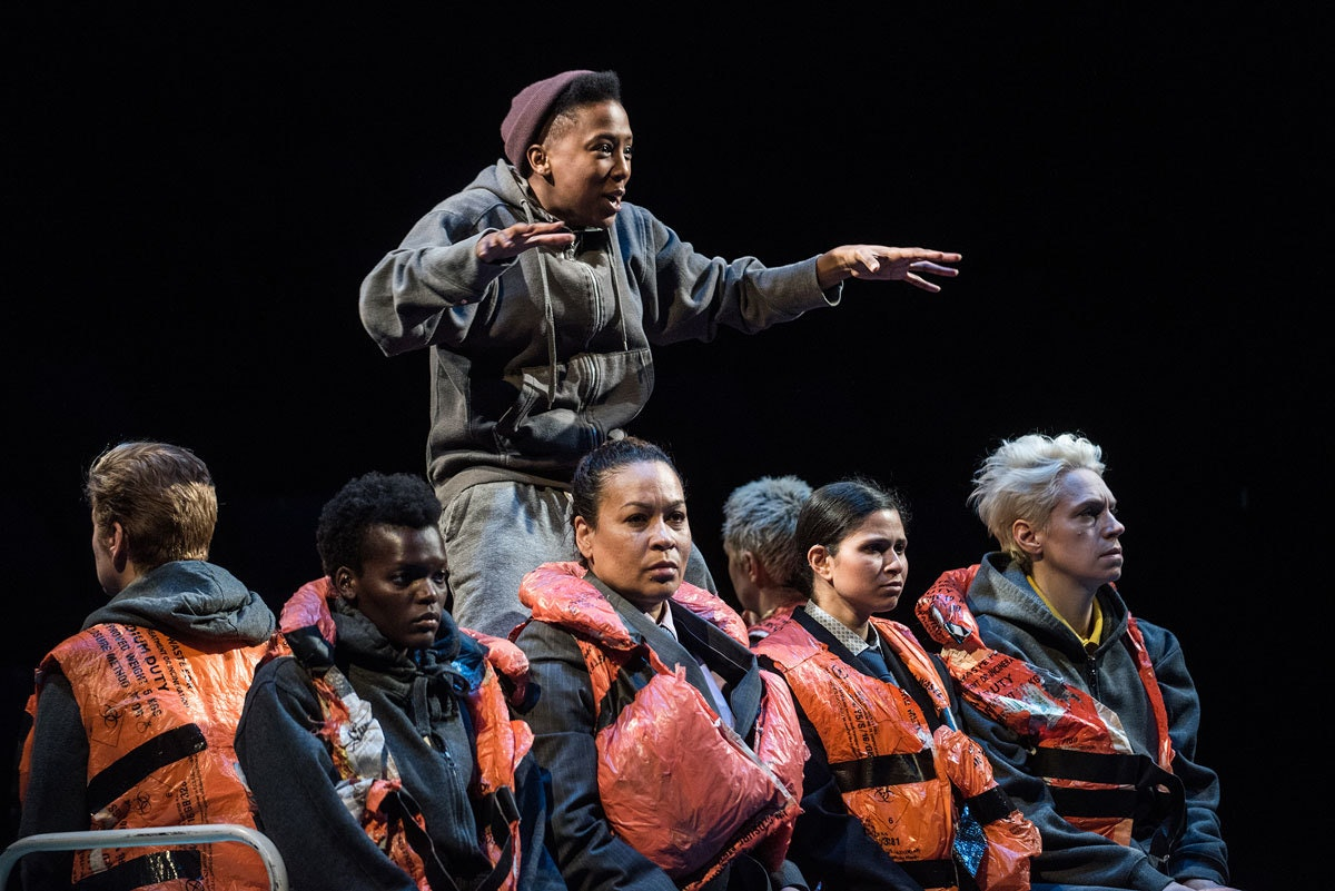 A production still from Donmar's The Tempest