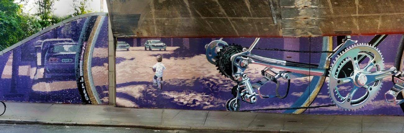 Dumbo Walls: Heritage I and II by Apolo Torres