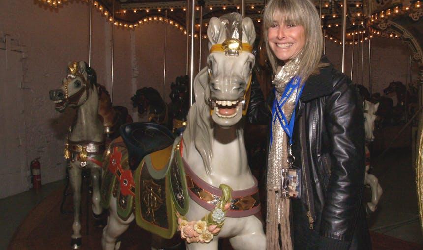 Jane Walentas Carousel Portrait