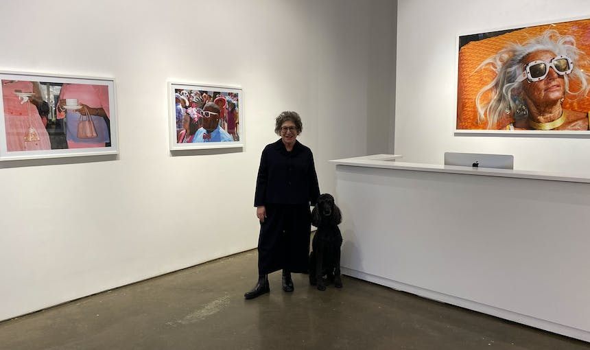 Janet Borden In The Gallery