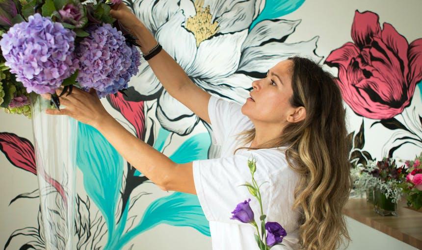 Magdalena Levy La Catrina Flowers