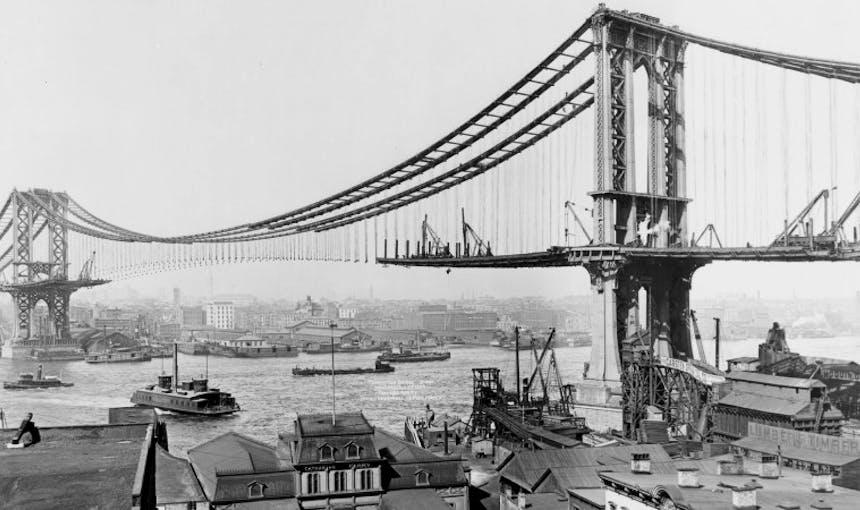 Manhattan Bridge History