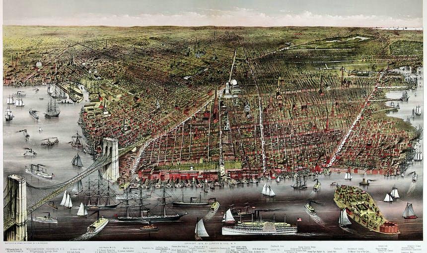 Map Of Brooklyn History