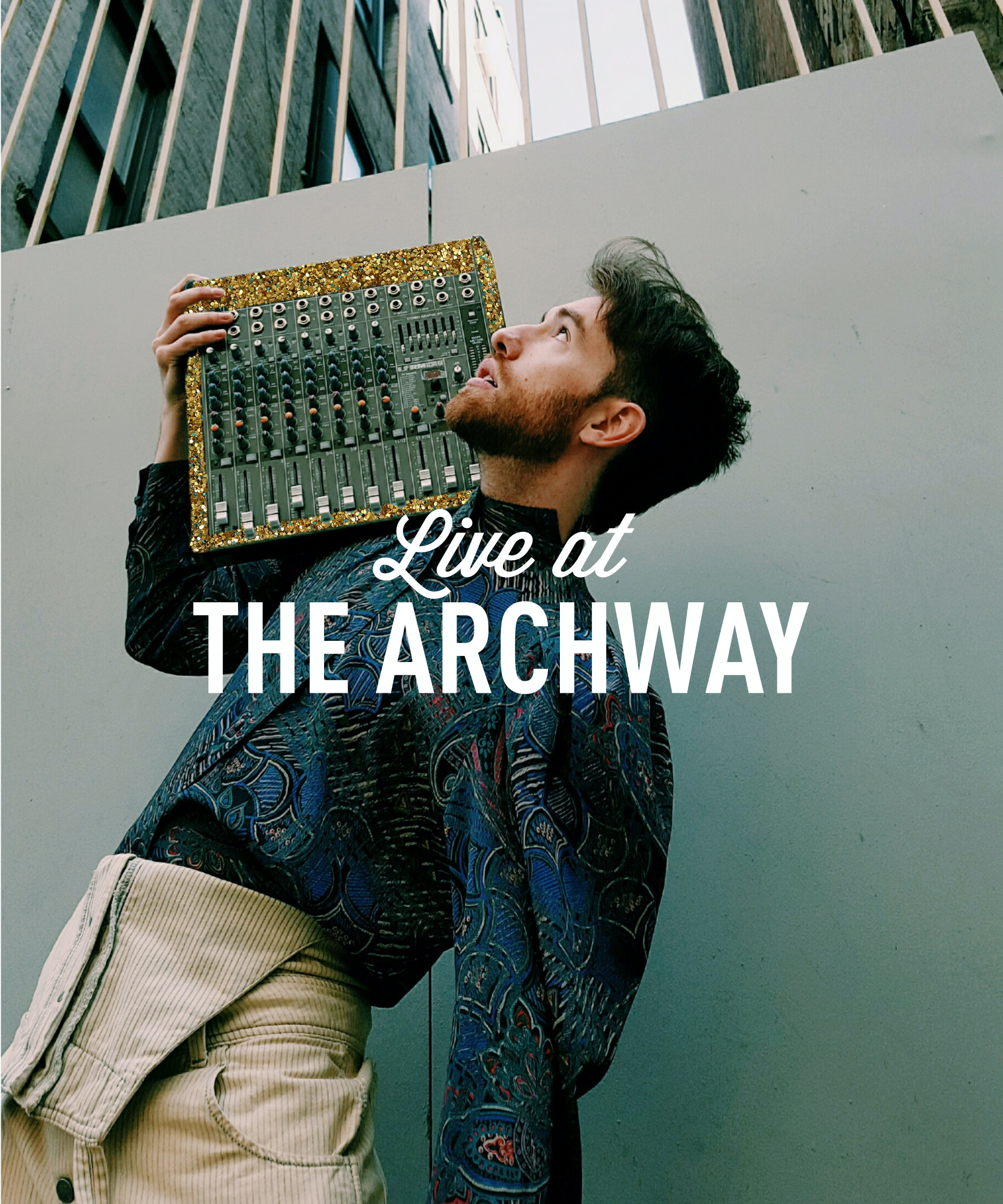 7/19   Live at the Archway: Michael Blume