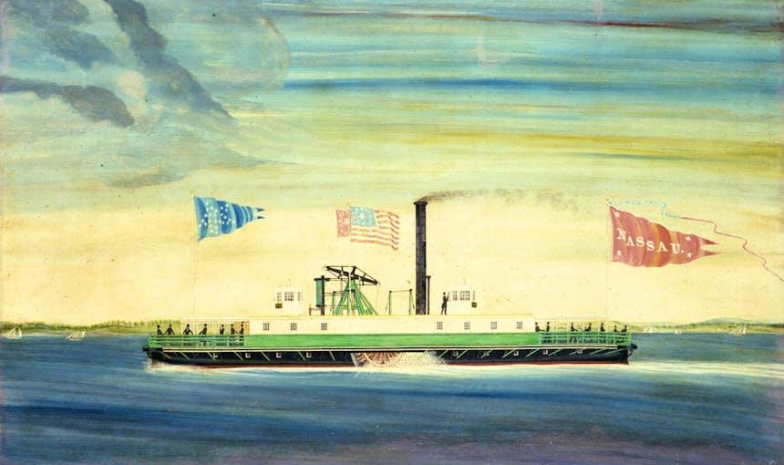 Nassau Ferry History 1814