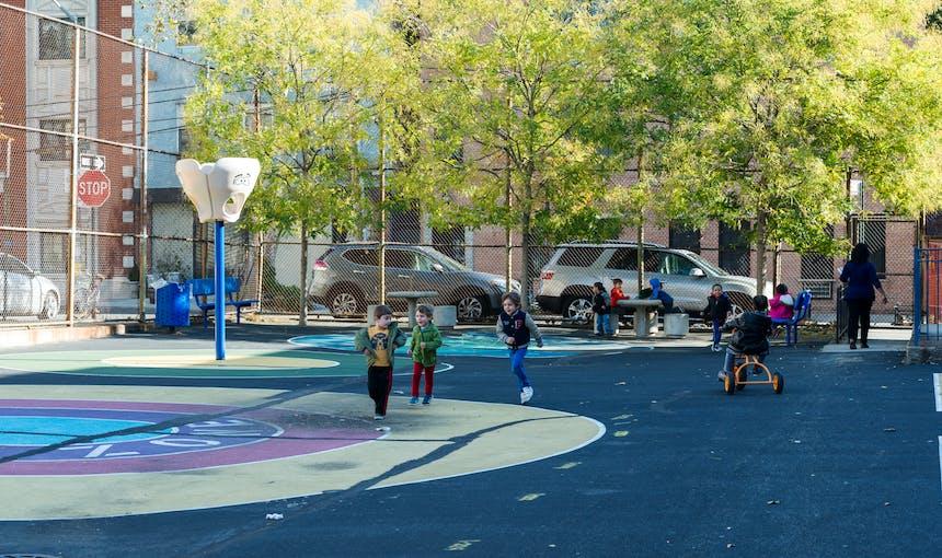 Ps307 Yard Kids Play