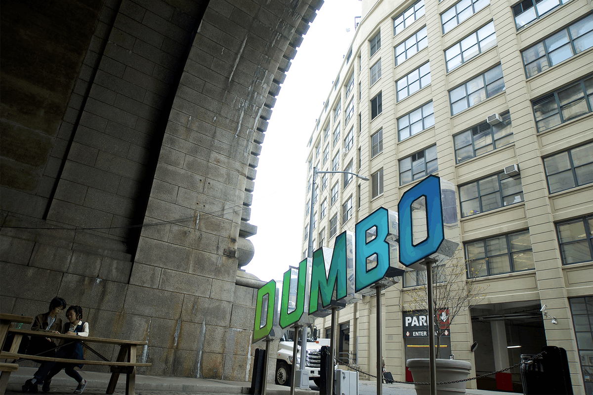 The Dumbo Reflector is back, with an epic new look by Dumbo-based artist John Ensor Parker & DCM Fabrication.