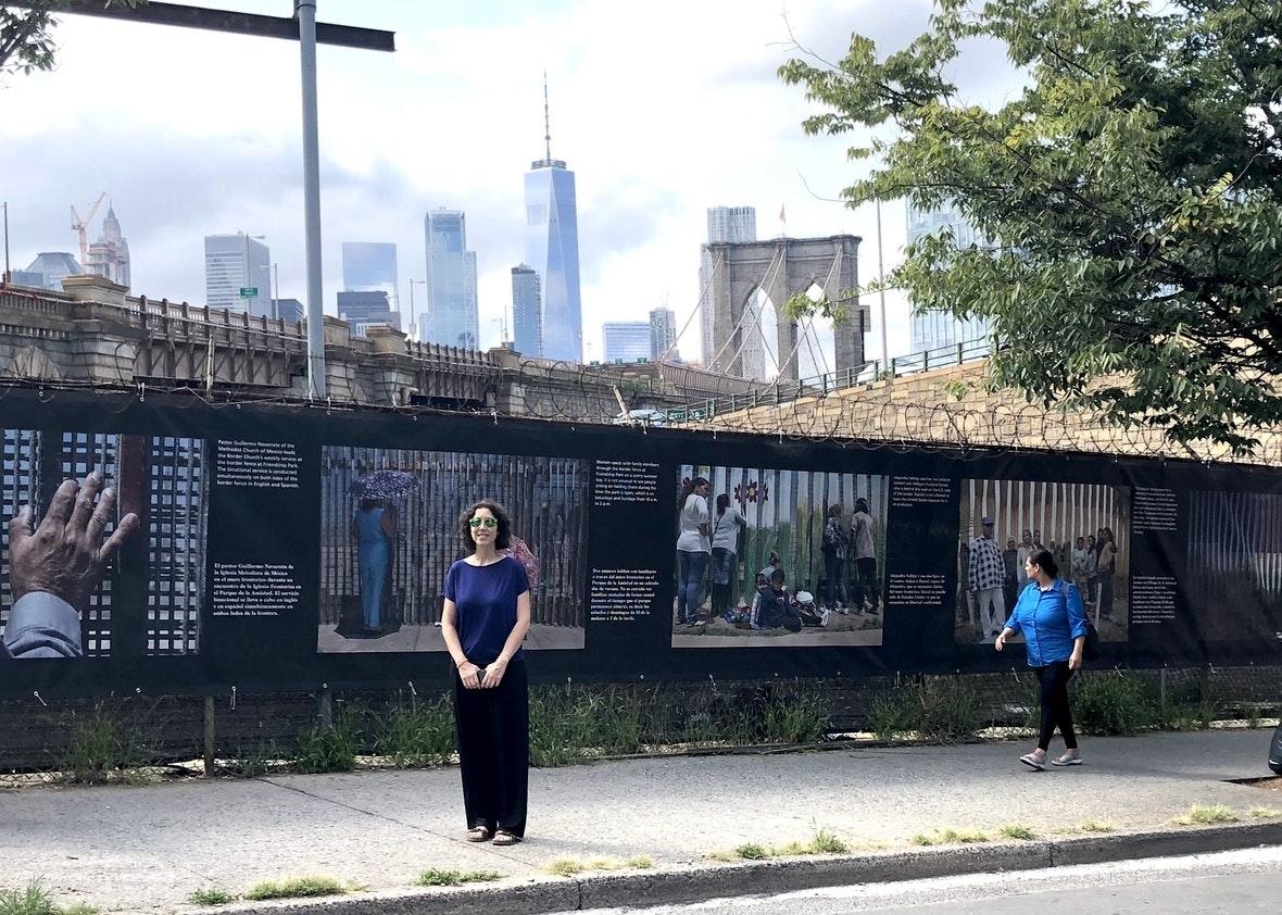 Griselda San Martin: The Wall