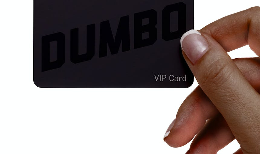 Vip Card With Hand