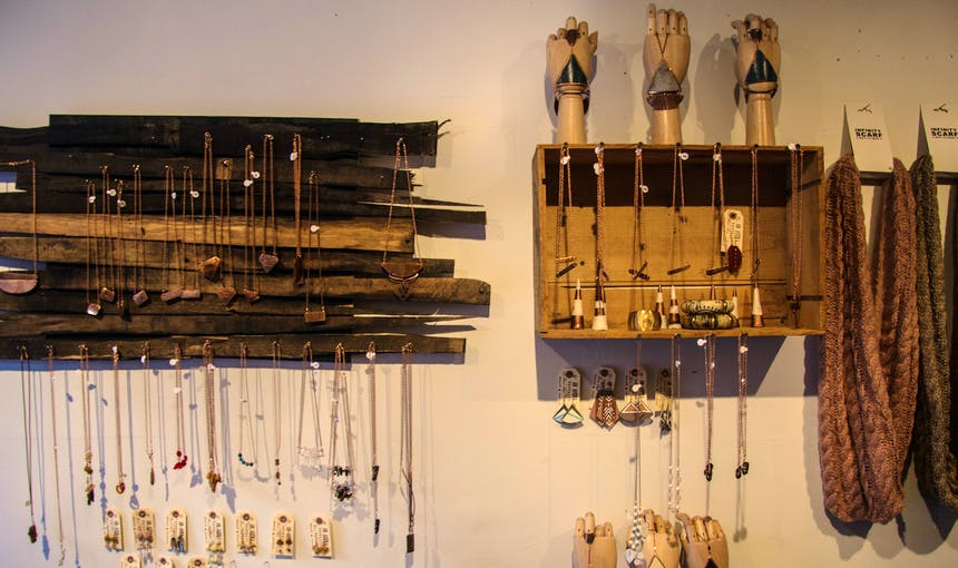 Ad Astra Jewelery Display