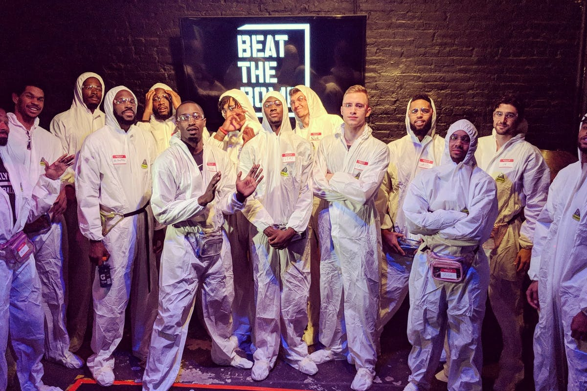 The Brooklyn Nets at Beat The Bomb