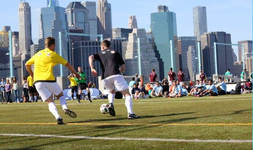 Brooklyn Bridge Park Nyfest 2018 Soccer