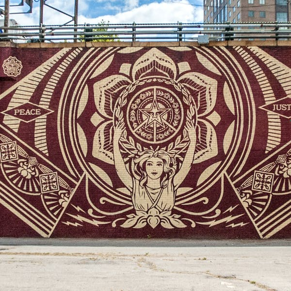 Dumbo Walls: Shepard Fairey