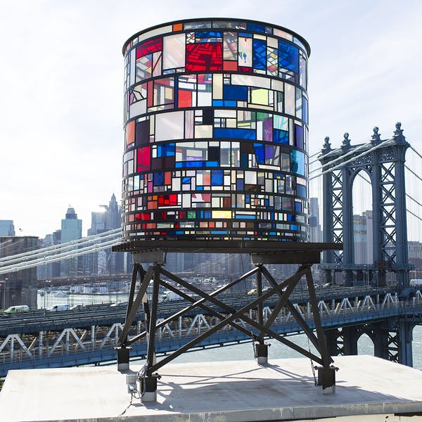 Tom Fruin: Watertower