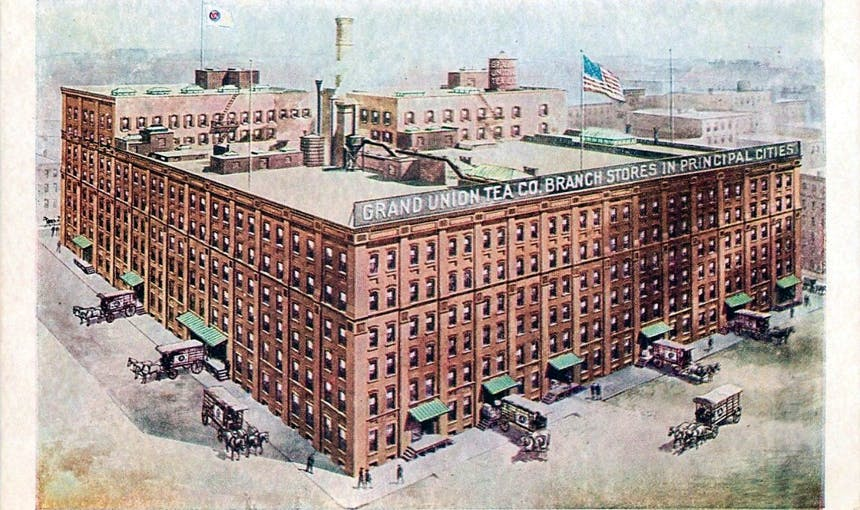 History Grand Union Tea Company 68 Jay Street Brooklyn 11