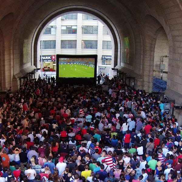 The World Cup In Dumbo