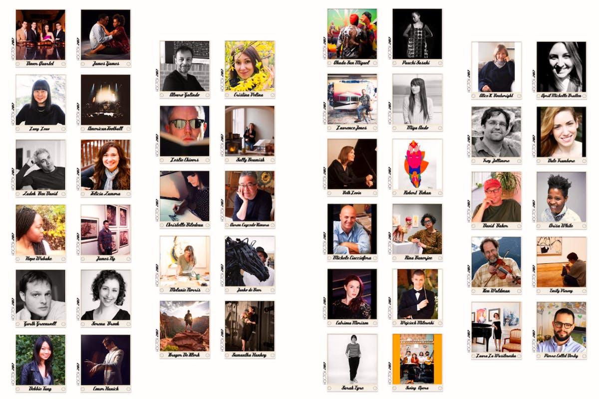 2017 Artist Roster