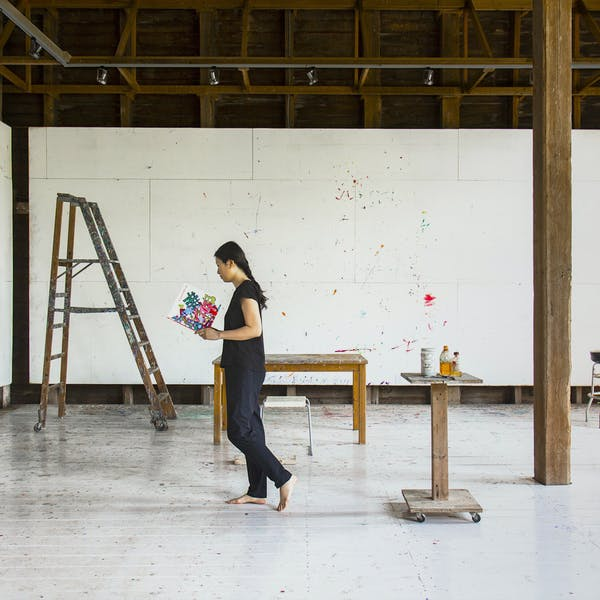 Kyoung eun Kang: TRACES: 28 Days in Elizabeth Murray's Studio